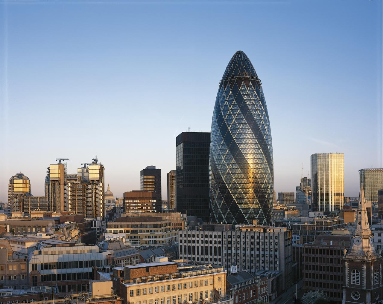 gherkin london investment locations